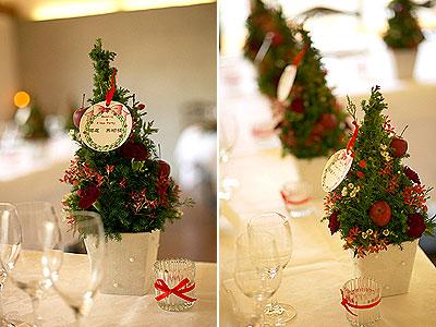 出典:,オリジナル ウエディング(結婚式), 08年12月18日オンエア クリスマスウエディング.