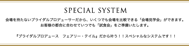 SPECIAL SYSTEM
